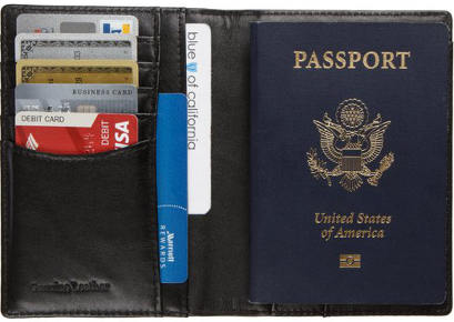 Normson RFID Blocking Passport Wallet Holder Cover