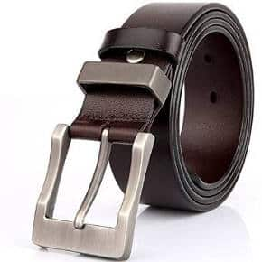 Belt for Men 100% Genuine Leather Belts