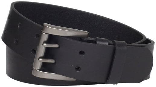 Levi's Men's 40mm Genuine Leather 2 Pronged Buckle Belt