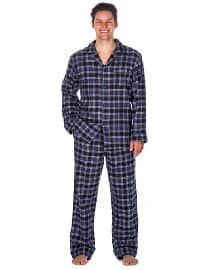 Noble Mount Men´s Premium 100% Cotton Flannel Pajama Sleepwear Set