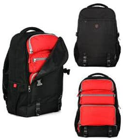 Convertible Carry-on Travel Backpack with Laptop Compartment