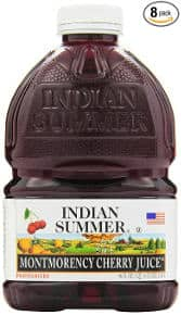 Indian Summer 100% Juice Montmorency Cherry 46 Ounce Container