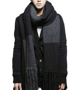 YYX Winter Fashion Women´s Men Warm Soft Knitted Long Scarf