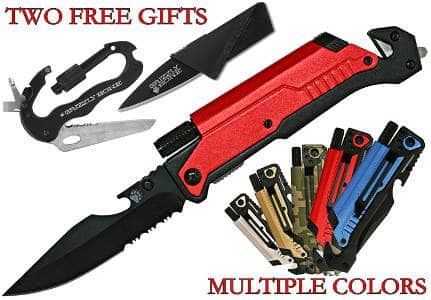 New 6-in-1 Best Survival Knife Ultimate Survival