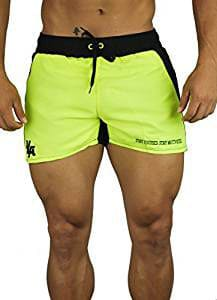 Youngla Men's Bodybuilding Gym Running Shorts