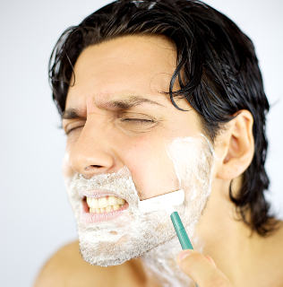 Get rid of shaving rash and irritation