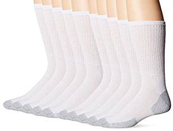 Fruit of the Loom 10 Pack Crew Socks