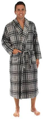 PajamaMania Men's Fleece Long Robe