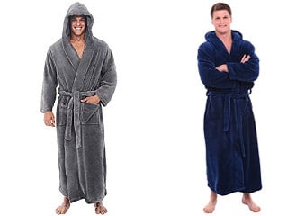 Best Fleece Bathrobe For Men