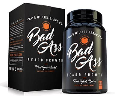 Badass Beard Hair Growth Vitamins for Men