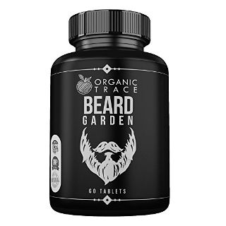 Beard, Hair and Mustache Supplement by Organic Trace