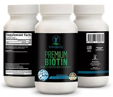 Biotin Supplement for Hair and Beard Growth