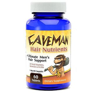 Caveman Hair and Beard Growth Vitamins