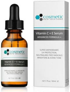 Cosmetic Skin Solutions Vitamin C and E Serum Advanced Formula