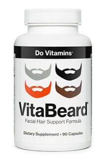 Do Vitamins VitaBeard Facial Hair Growth Multi-Vitamin