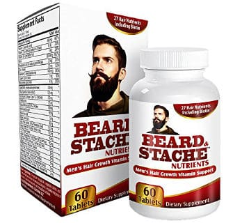 Facial Hair Growth Supplement by Elevate Recovery