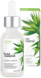 InstaNatural Vitamin C Serum with Hyaluronic Acid