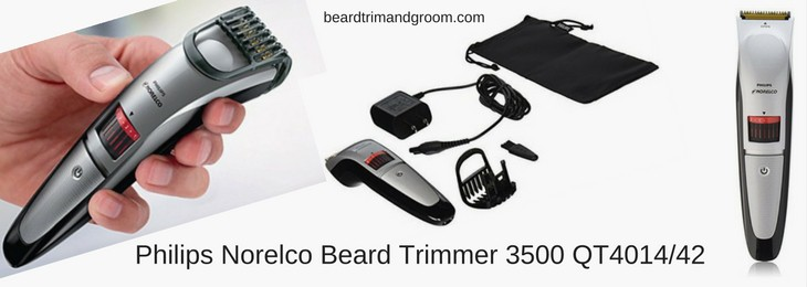 Philips Norelco Beard Trimmer 3500 QT4014_42
