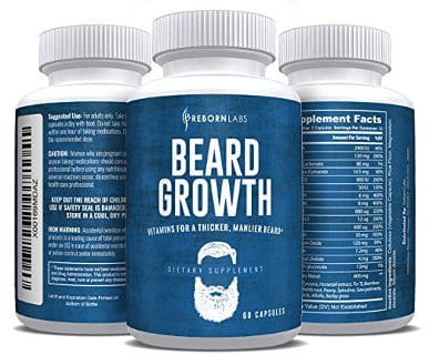 Reborn Labs Beard Growth Supplement