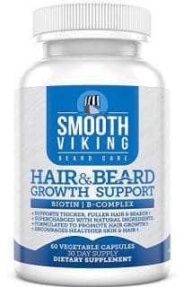 Smooth Viking Hair and Beard Growth Supplement