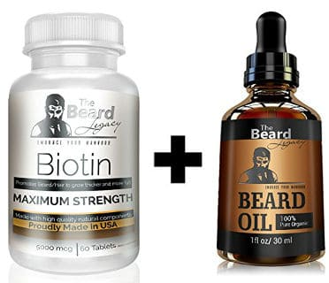 The Beard Legacy Beard Growth Kit