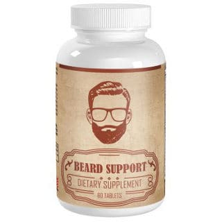 Vimulti Beard Growth and Hair Loss Treatment Supplement