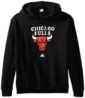 Adidas NBA Men´s Full Primary Logo Fleece Hoodie