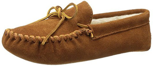 Minnetonka Men's Pile Lined Softsole Slippers