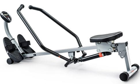 Sunny Health & Fitness SF-RW1410 Rowing Machine Rower with Full Motion Arms