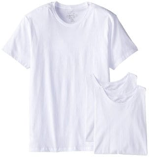 Calvin Klein Men's 3 Pack Crew Neck Undershirts