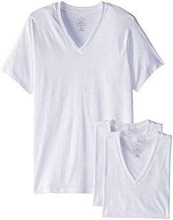 Calvin Klein Men's Undershirts (3 Pack) V-Neck