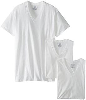 Fruit of the Loom Men's (3 pack) Tall Size V-Neck T-Shirt