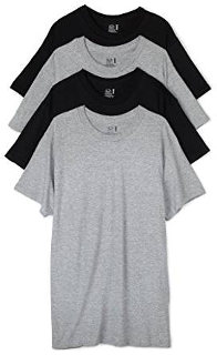 Fruit of the Loom Men's Crew Neck T-Shirt (Set of 4)