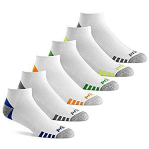 Prince Men's Low-Cut Performance Athletic Socks for Running, Tennis and Casual Use