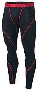 Tesla Men's Compression Base Layer Running Tights-Pants P 16
