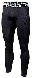 Tesla Men's Thermal Wintergear Compression Pants-Leggings-Tights