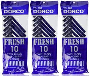 Dorco Fresh Twin Blade Disposable Razors