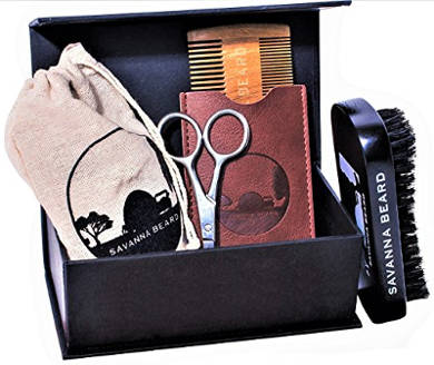 SAVANNA BEARD Grooming Beard Kit
