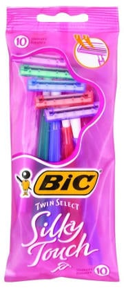Bic Twin Select Silky Touch