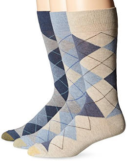 Gold Toe Men´s Classic Cotton Argyle Socks