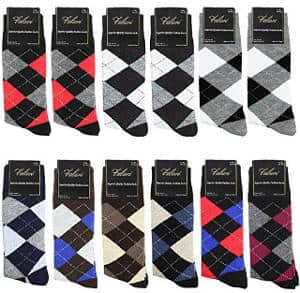 Falari Men's Cotton Dress Socks