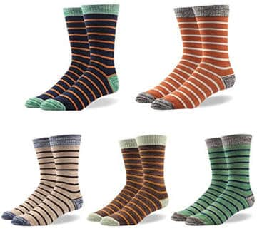 Rioriva Men´s Formal Colorful Patterned Dress Socks