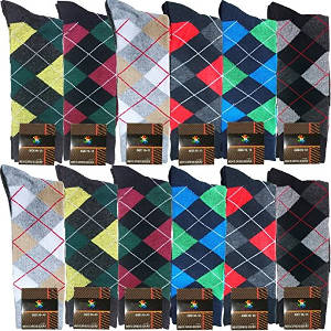 USBingoshop Men's Cotton Dress Socks
