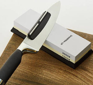 Sharpen-Up Two Sided Sharpening Stone Kit