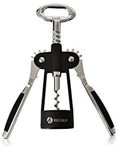HiCoup Wing Corkscrew Wine and Bottle Opener