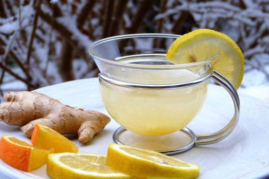 Ginger tea to lose weight