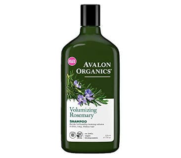 Avalon Organics Shampoo with Volumizing Rosemary (Pack of 2)