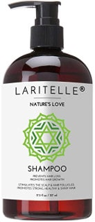 Laritelle Organic Shampoo with Keratin, Rosemary and Grapefruit