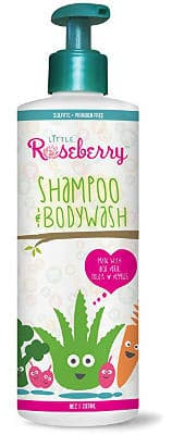 Kids Shampoo and Body Wash by Little Roseberry