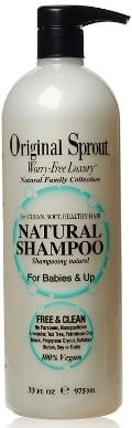 Natural shampoo for sensitive scalp